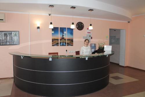 Лобби или стойка регистрации в Hotel Rosa Vetrov