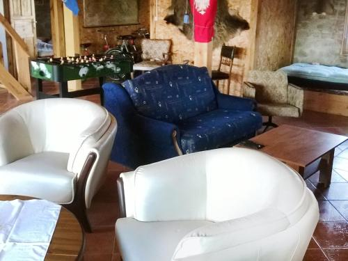 A seating area at Holiday Home Angelino