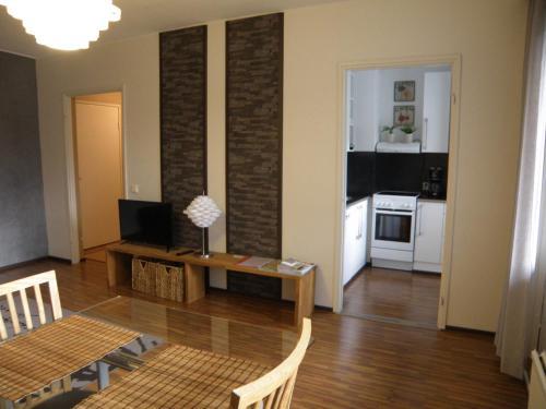 Oleskelutila majoituspaikassa Asuntovuokraus Poimu