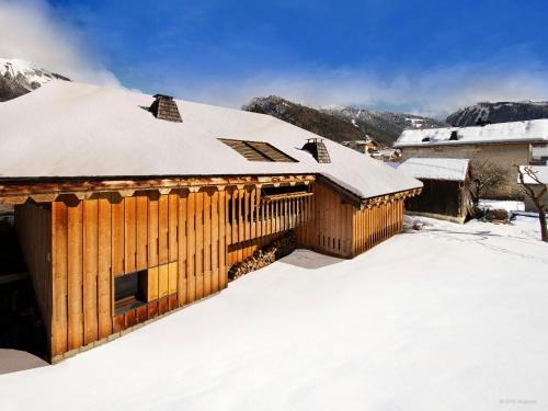 Villa Solaire during the winter