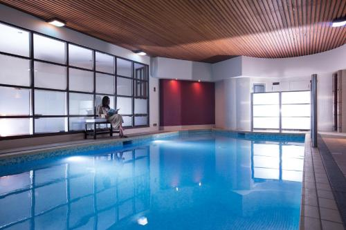 The swimming pool at or near The Club Hotel & Spa Jersey