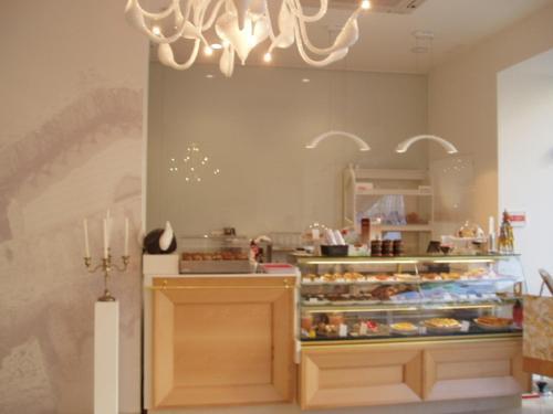 A kitchen or kitchenette at Espaco Edla