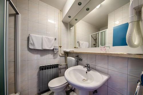 Kúpeľňa v ubytovaní Hotel Issa