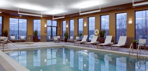The swimming pool at or near Embassy Suites Columbus - Airport