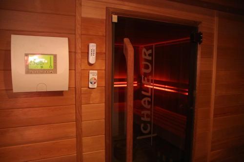 Een badkamer bij La Crème