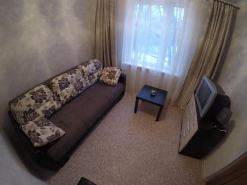 Гостиная зона в Apartments on Orekhovom bulvare