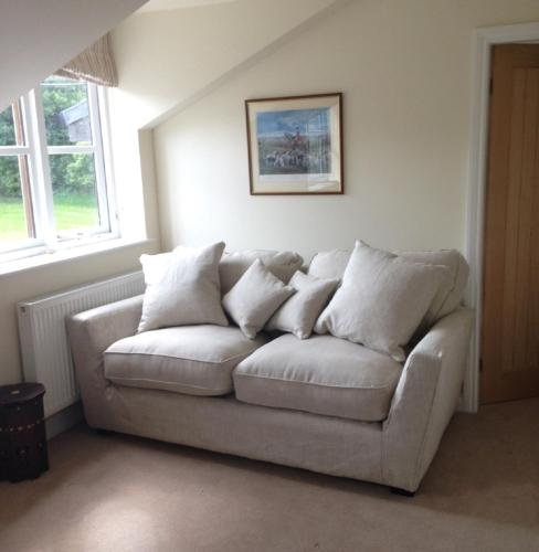A seating area at Mill Cottage