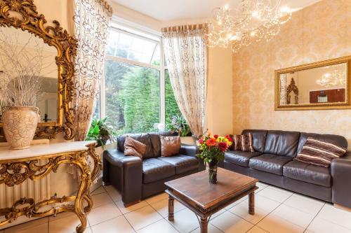 Zona de estar de Roseview Alexandra Palace Hotel