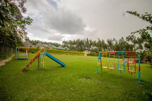 Children's play area at Trek Savannah Hotel