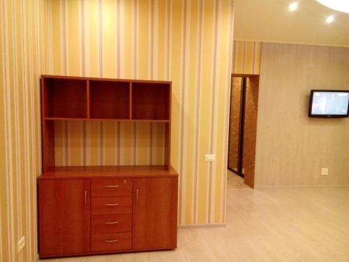 A television and/or entertainment center at Apartment on Lenina 135/2