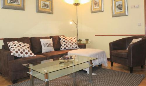 A seating area at Apartamento Homelife Buenavista