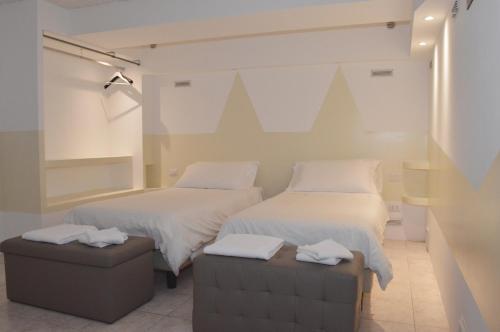 Letto o letti in una camera di Appartamenti Flat 2015