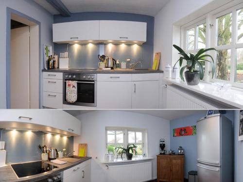Küche/Küchenzeile in der Unterkunft Chestnut Cottage