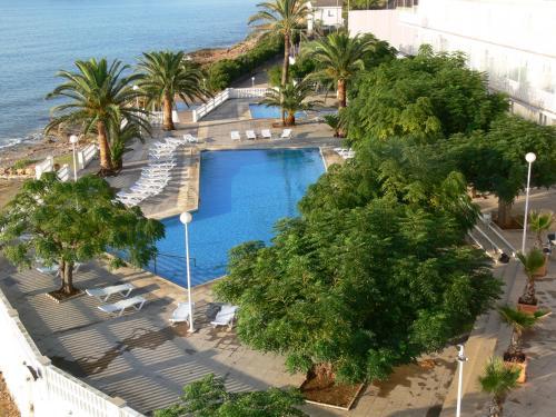 Vista de la piscina de Carlos III o alrededores
