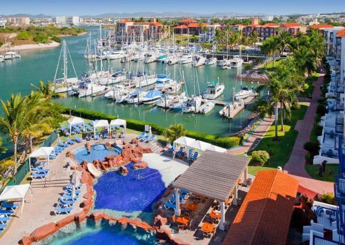 El Cid Marina Beach Hotel a vista de pájaro