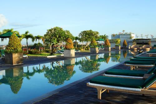 The swimming pool at or near U Paasha Seminyak Bali