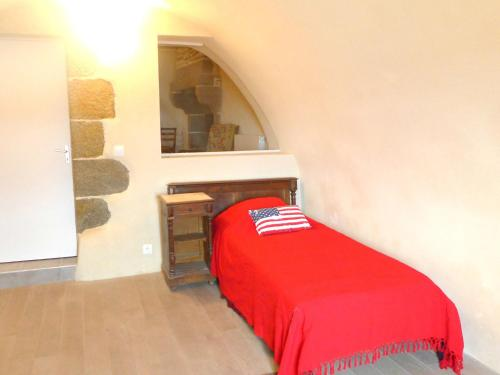 A bed or beds in a room at Apartment Dauphine