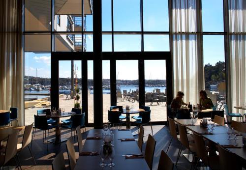 En restaurant eller et spisested på Strömstad Spa & Resort