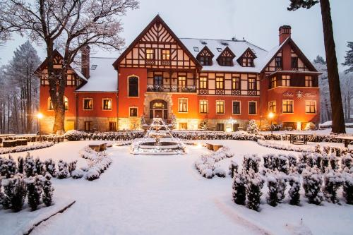 Pałac Margot Nature&SPA during the winter
