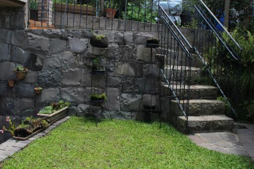 Um jardim em Loft São Joaquim