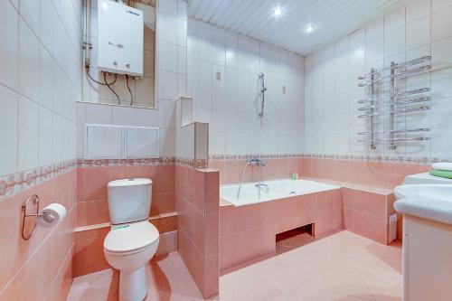 Ванная комната в Welcome Home Apartments Nevsky 54/3