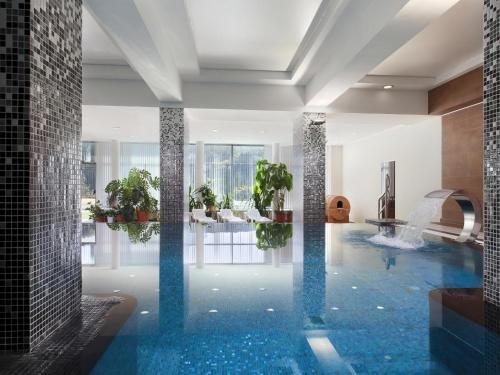The swimming pool at or near Plaza Spa Hotel Zheleznovodsk
