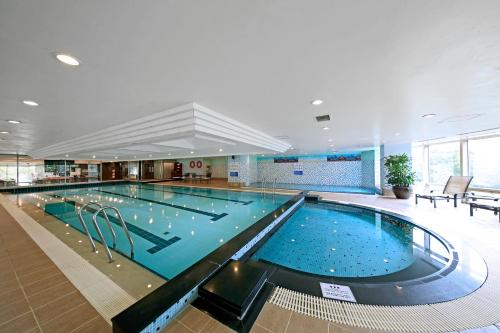 The swimming pool at or near Orakai Insadong Suites