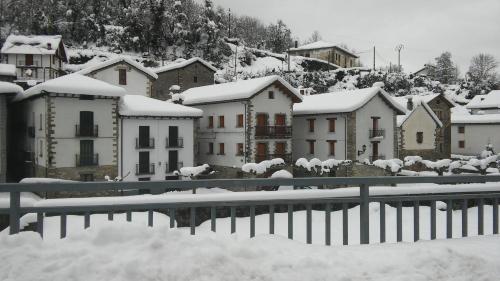 Kapel Etxea en invierno