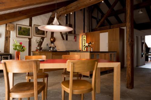 Лаундж или бар в Ferienwohnung Schwert