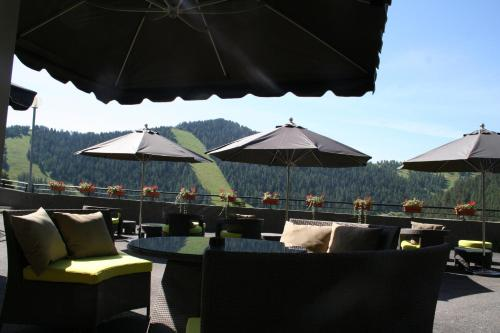 A restaurant or other place to eat at Residence Adrechas et Spa