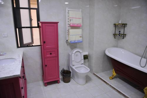 A bathroom at Countryside Villa