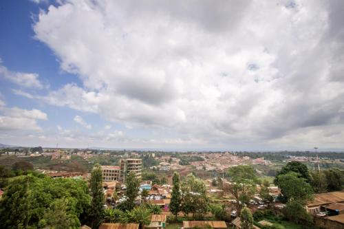 A bird's-eye view of Eland Safari Hotel Nyeri