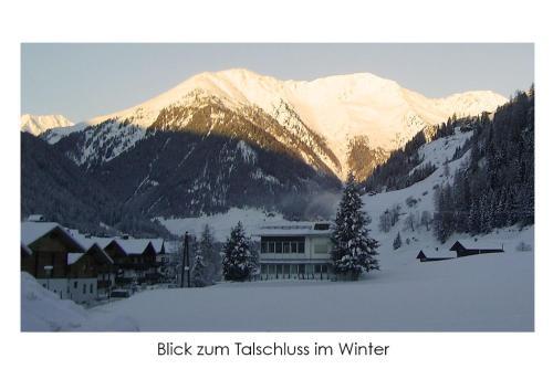 Ferienwohnung Helmut Bachmann im Winter