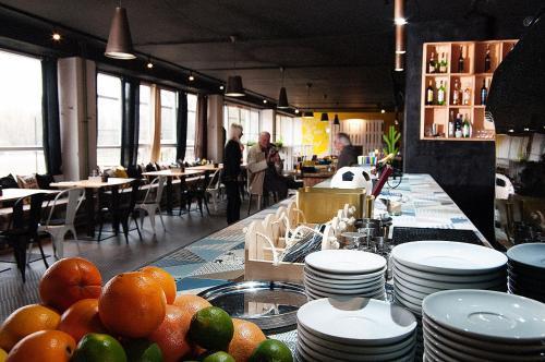 Reštaurácia alebo iné gastronomické zariadenie v ubytovaní Mari Kiri Penzion