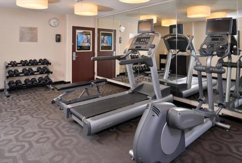 The fitness center and/or fitness facilities at Fairfield Inn & Suites by Marriott Helena