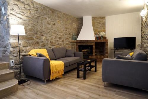 Zona de estar de Casa El Carolino