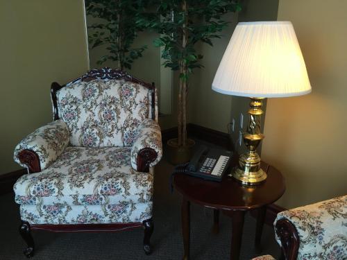 Χώρος καθιστικού στο Motel Cofotel