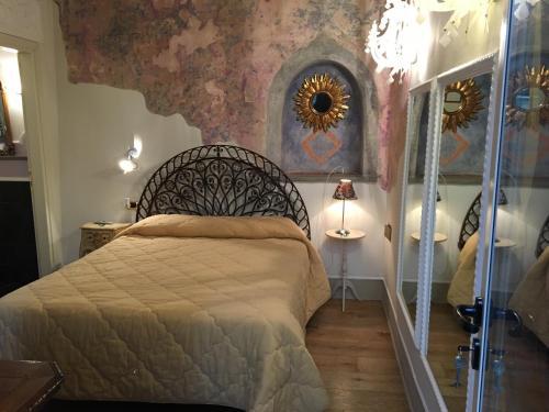 Cama o camas de una habitación en B&B Mr. My Resort