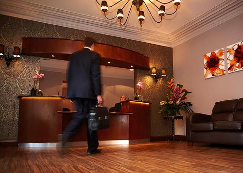 The lobby or reception area at The Kimberley Hotel