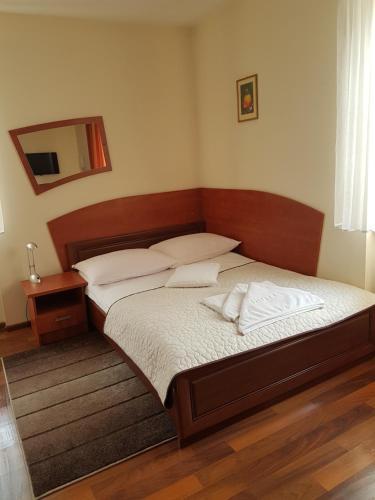Кровать или кровати в номере Hotel Restauracja Kinga