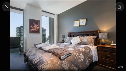 A bed or beds in a room at Fantastic Freshwater