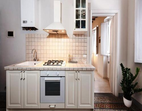 A kitchen or kitchenette at Happy Florence Santa Croce 1