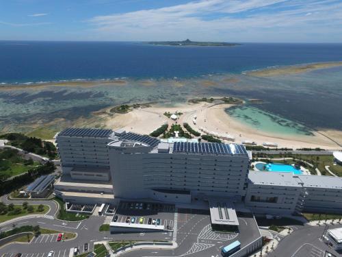 A bird's-eye view of Hotel Orion Motobu Resort & Spa