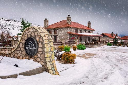 Monte Bianco Villas during the winter