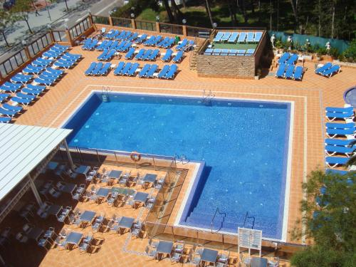 A view of the pool at Hotel Univers or nearby