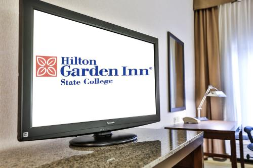 A television and/or entertainment center at Hilton Garden Inn State College