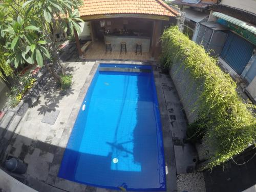 A view of the pool at D'Astri Guest House or nearby