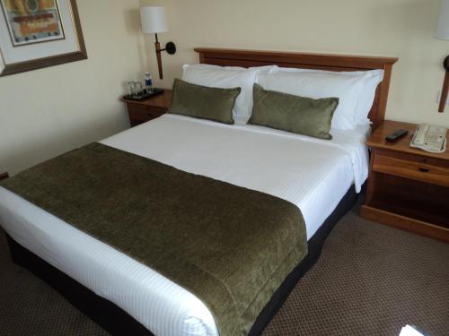 タージ パモジ ルサカにあるベッド
