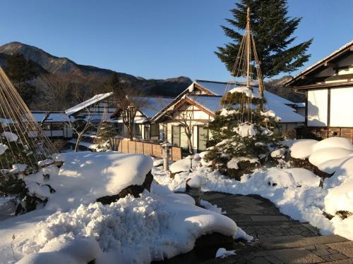 Shojuen during the winter