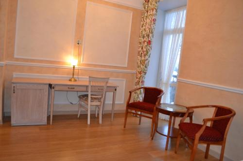 Гостиная зона в Отель Ильмень